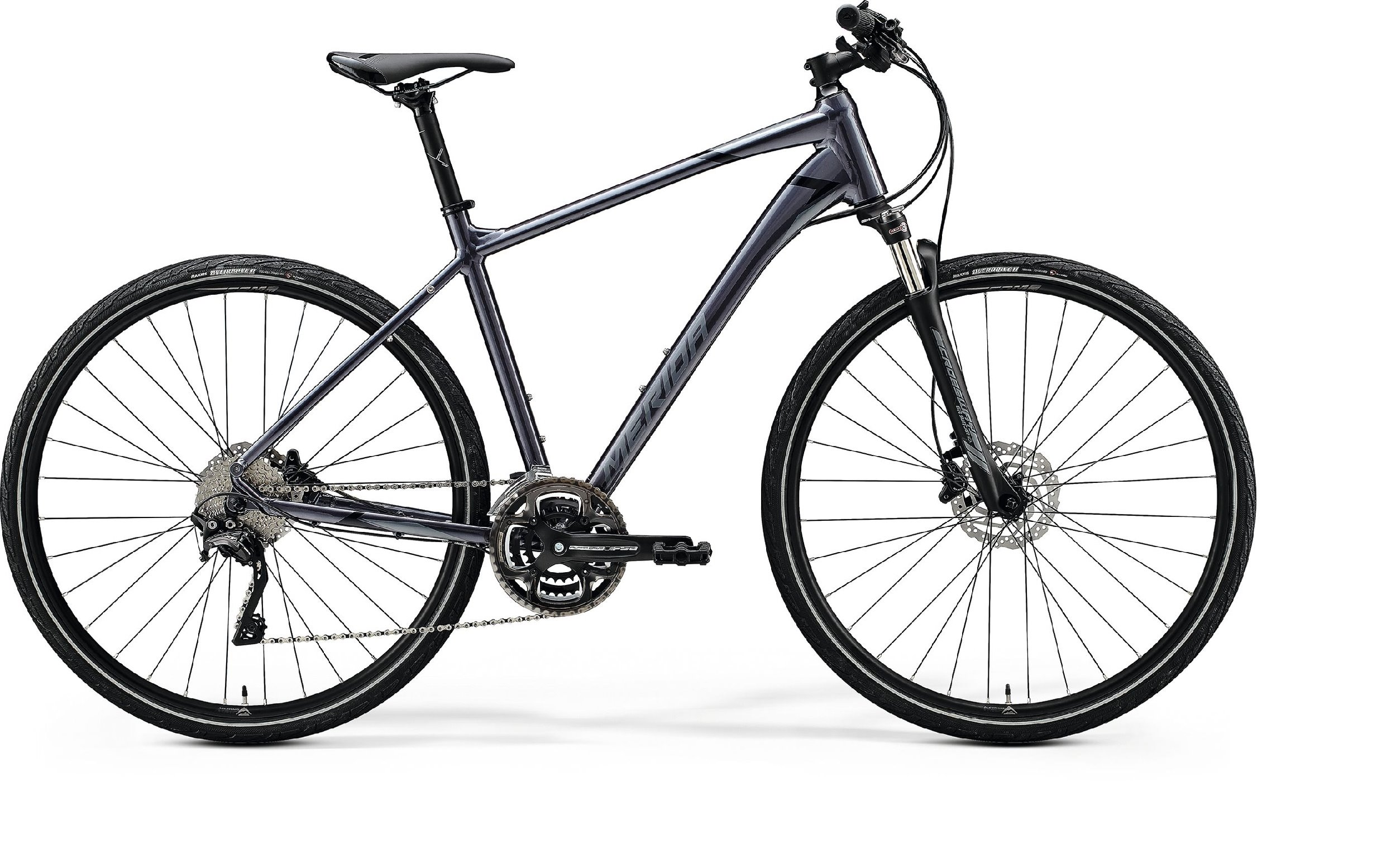 Merida CROSSWAY 500 Glossy Anthracite(Black/Silver) L - 2020