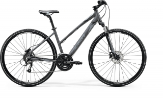 Merida  CROSSWAY 40-LADY Silk Anthracite(Black/Silver) S - 2020